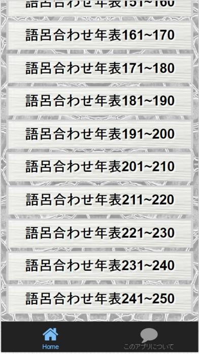 中学2年日本史語呂合わせ歴史年号受験対策全250問スクリーンショット3