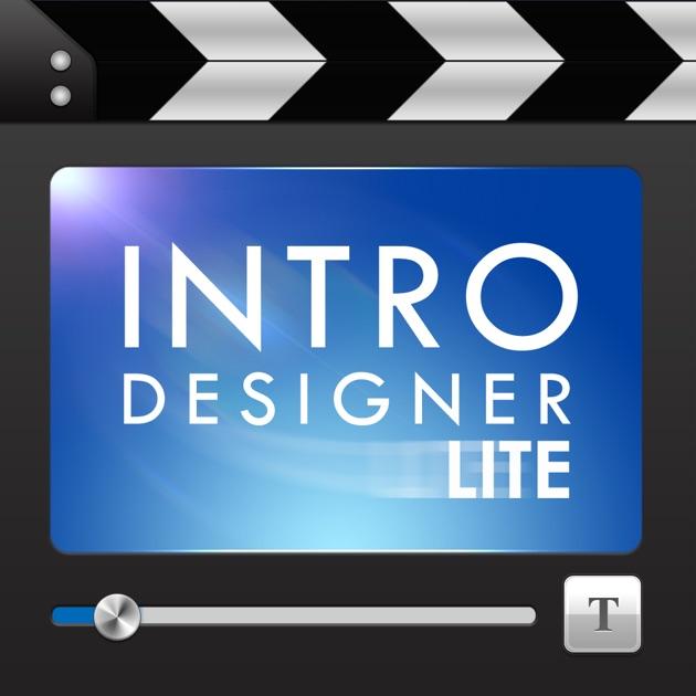 Intro Designer Free Download Ios