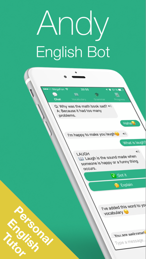 English with Andy - Chat&Learn Screenshot