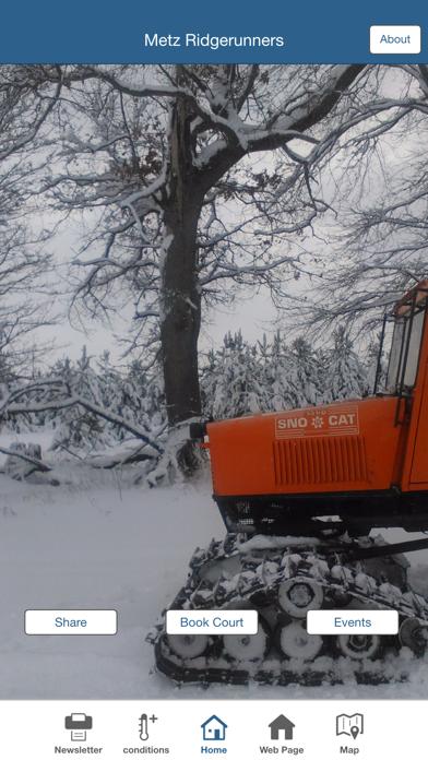 Metz Ridgerunners Snowmobile screenshot three