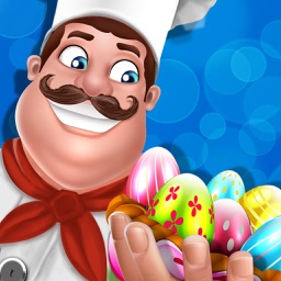 Easter Bakery Cafe - Food Chef Cooking Games