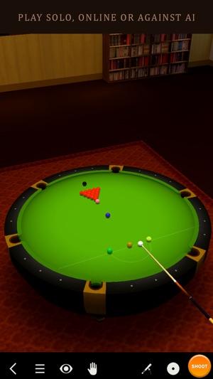 Pool Break - 3D Billiards und Snooker Screenshot