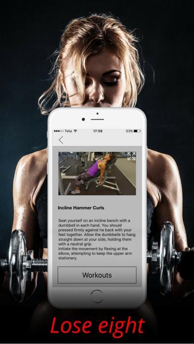 上腕二頭筋の練習と腕ワークアウトトレーニングルーチンのおすすめ画像3