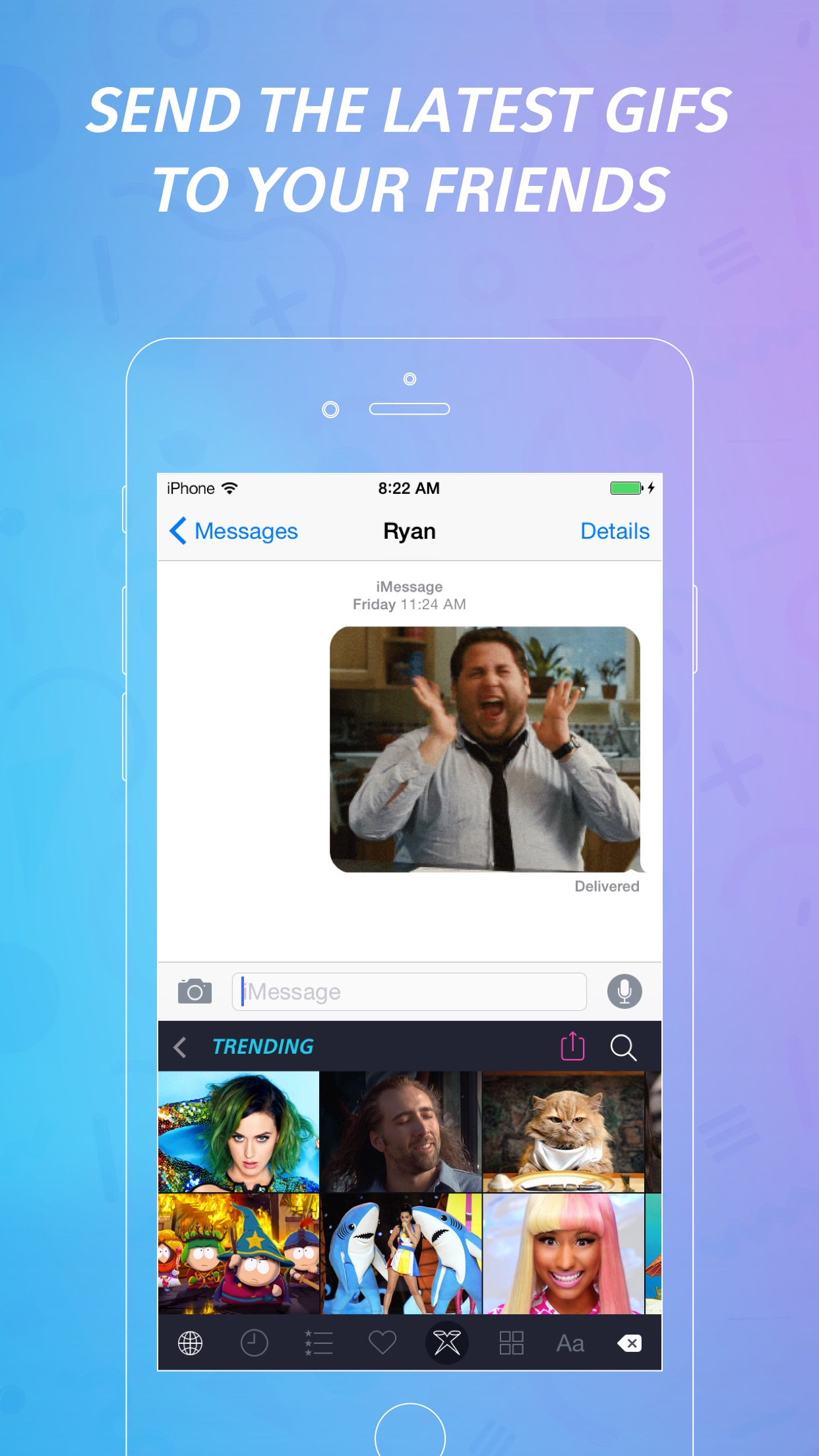 PopKey + GIF Keyboard Screenshot