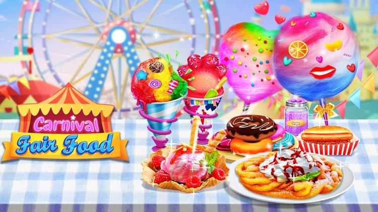 Carnival Fair Food Maker - Kids Food Cooking Games screenshot-3