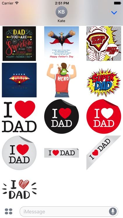 Father's Day Stickers screenshot-4