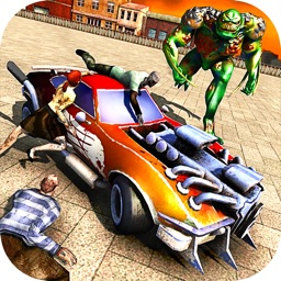 Zombie Smash Car Derby - Zombies Tsunami Killer 3D