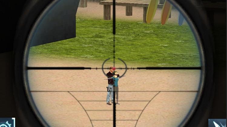 Sniper Shooter 3D - Modern Sniper War at Beach