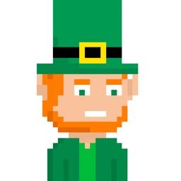 PIXTICKERS - St Patrick's Leprechaun (Animated)