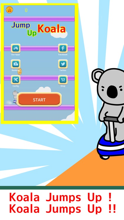 Jump Up Koala screenshot-0