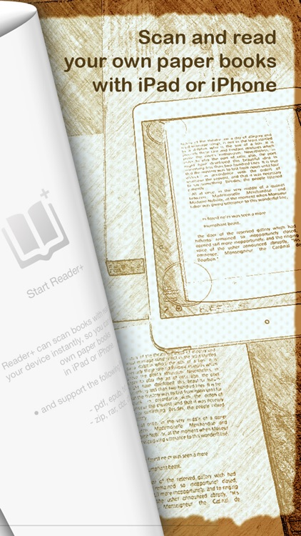 Reader+ Pro : eBook Reader & Book Scanner