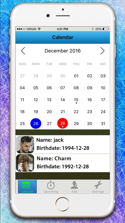 My Birthday Calendar