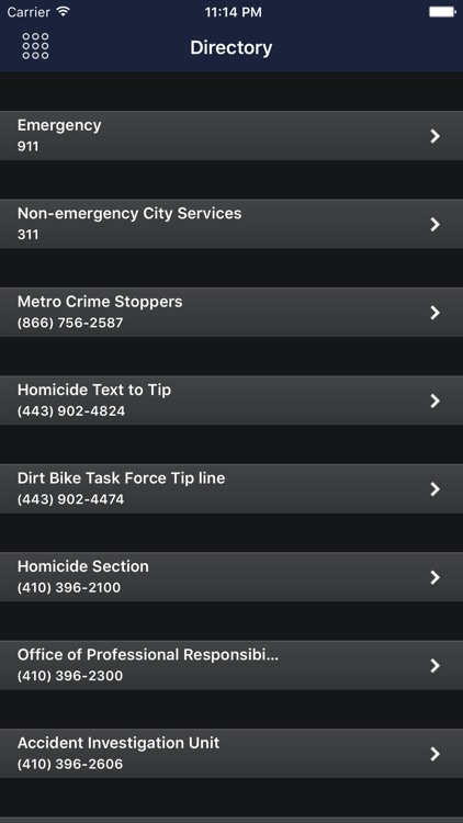 Baltimore PD Mobile screenshot-4