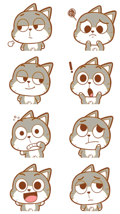 Cat Kitty Stickers screenshot-3