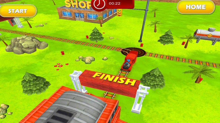 Tricky Train 3D Puzzle Game screenshot-1