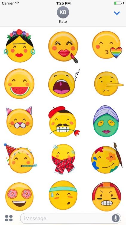 Faces by MarcyMoji