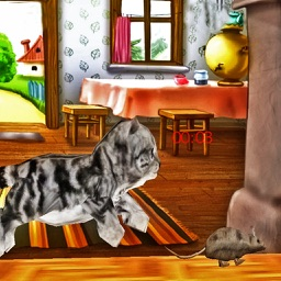 Kitten Cat Running With Crazy Rat 2017 Game