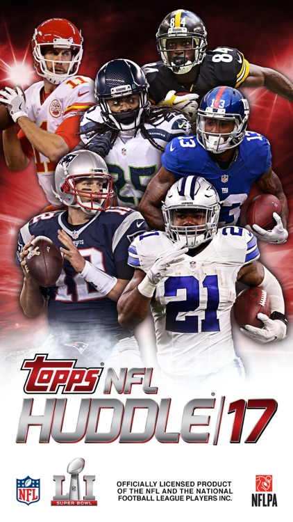NFL HUDDLE: Football Card Trader screenshot-0