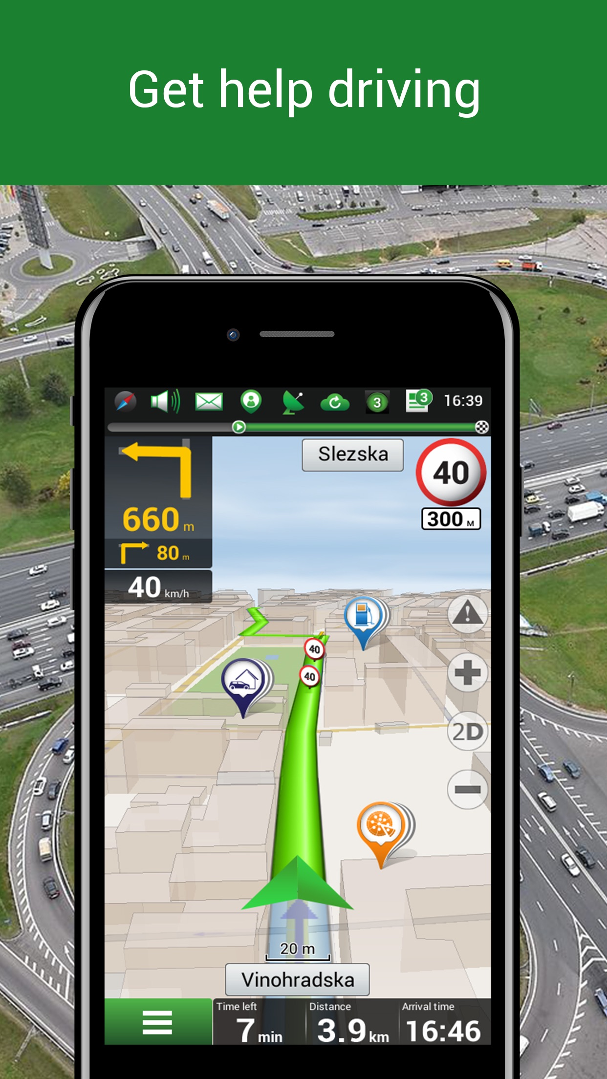 Navitel Navigator - Offline navigation & Maps Screenshot