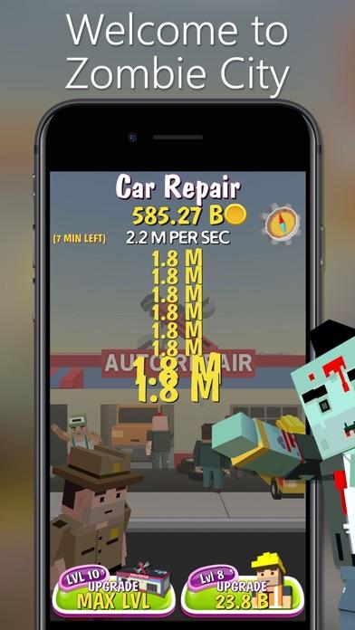 Zombie City - Clicker Tycoon screenshot one