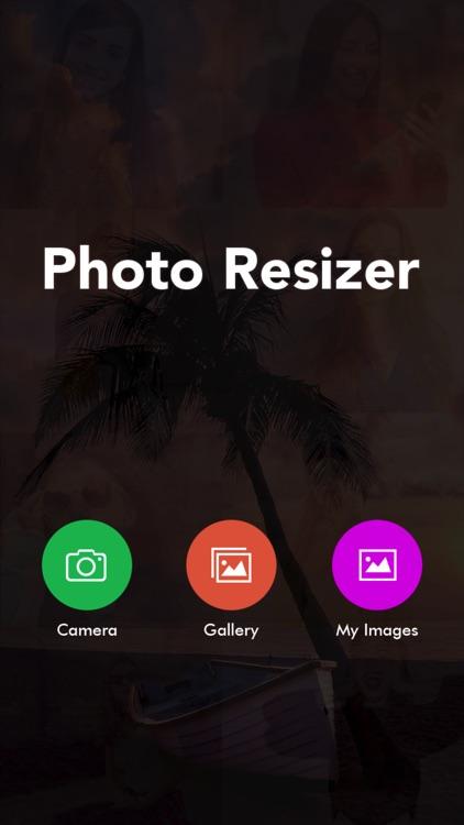 Photo Resizer - Image Resizer with reduce photo
