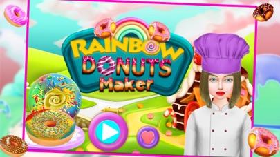 Rainbow Donuts Makers – Baking Chef screenshot one