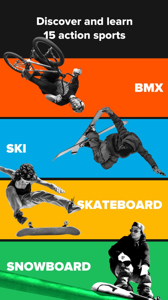 RIDERS – BMX, Skateboard, and Scooter tricks Screenshot