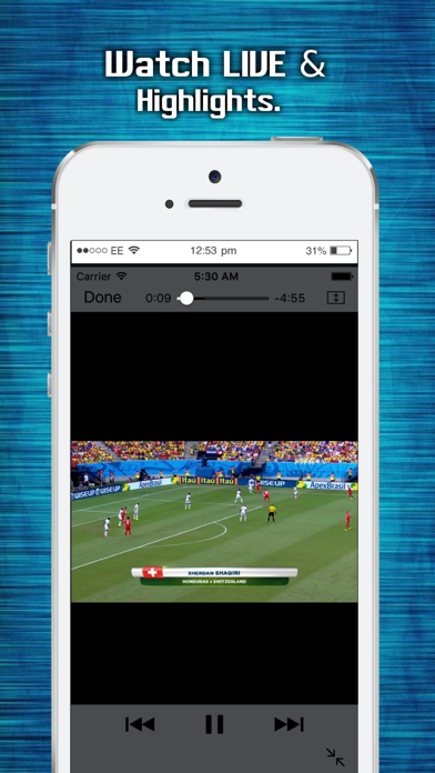 Sports TUBE LIVE - Top, Latest & Highlights Screenshots
