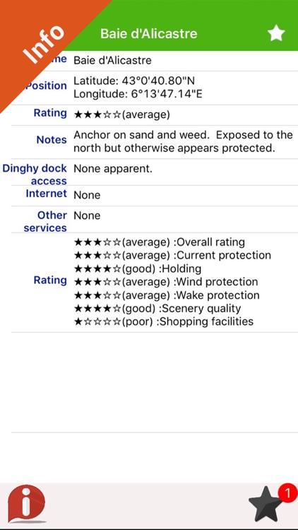 French Riviera Nautical Charts screenshot-3