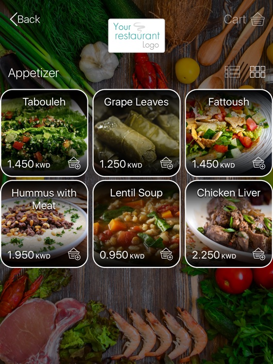 nuMenu - Restaurant Management