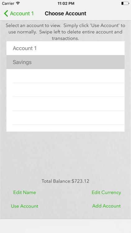 Bank Account screenshot-3