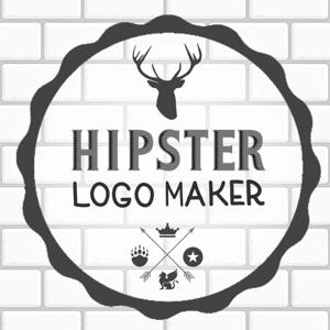 Hipster Logo Maker - Logo Maker & Logo Creator B&W app