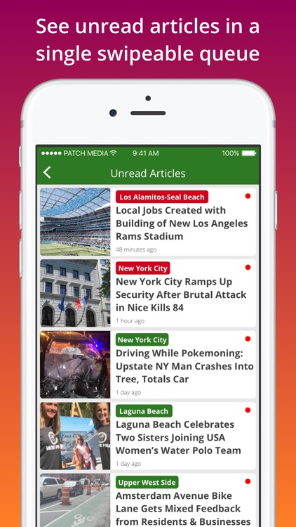 Patch: Local breaking news, crime, weather, events screenshot-4