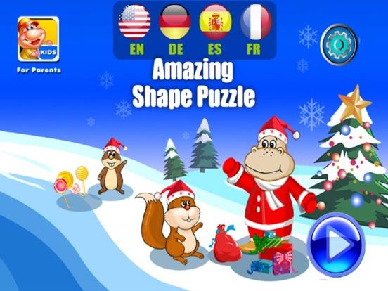 Christmas Shape Puzzle- Educational Preschool Appsのおすすめ画像3