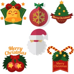 Merry Christmas- Holiday Stickers for iMessage