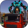 Real Robot Transport and Driving Simulator