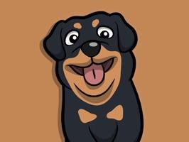 Rottwemoji - Rottweiler Emoji & Stickers