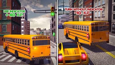 コーチバスシミュレータ3D:都市運転校ゲームのおすすめ画像3