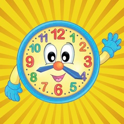 Tell the Time - Baby Learning English Flash Cards