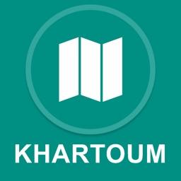 Khartoum, Sudan : Offline GPS Navigation