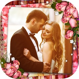 Wedding frames – romantic love photo album editor