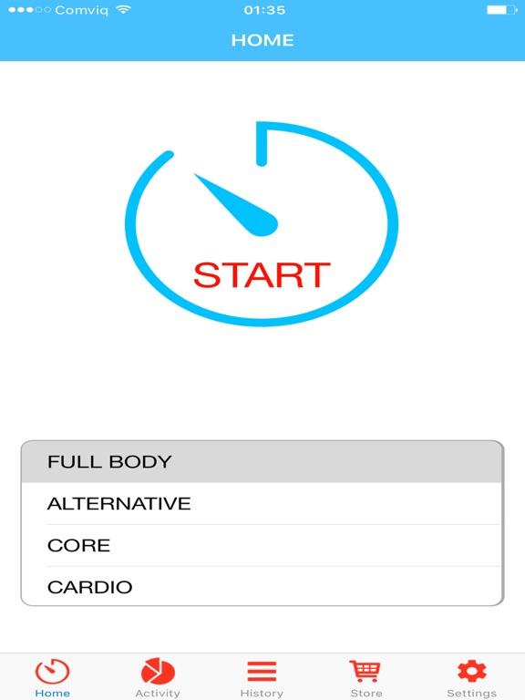 Quick workout - shape you up! screenshot 5