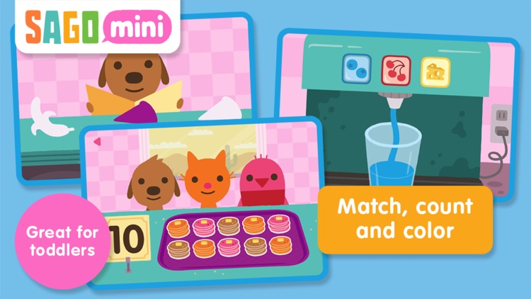 Sago Mini Pet Cafe screenshot-0