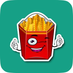 Cute Animated Fast Food