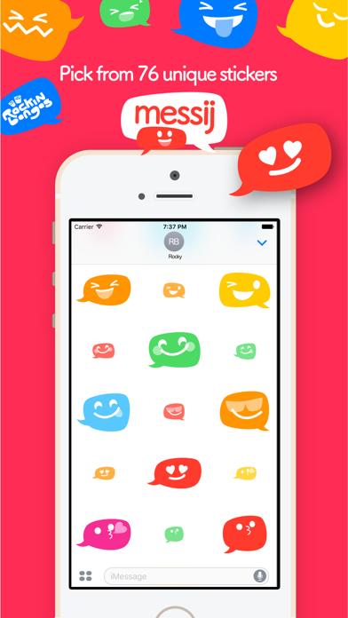 Messij, Emoji stickers for iMessageScreenshot of 2