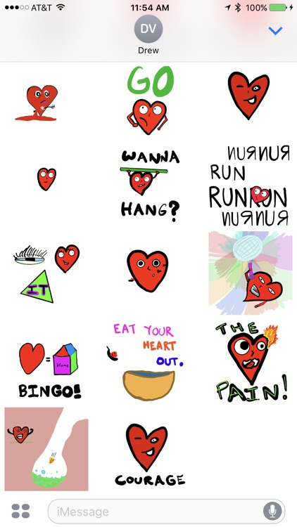 It Takes Heart Animated Stickers screenshot-4