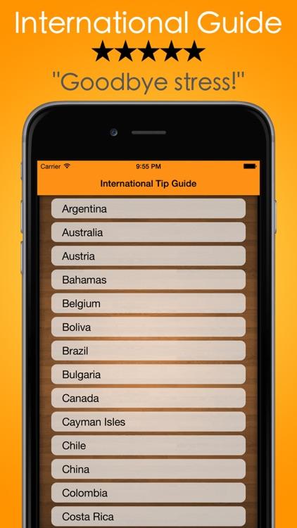 Tip Calculator - Tip Check, The #1 Gratuity Guide screenshot-3