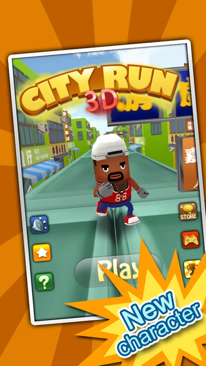 3D City Run-The world's most classic Parkour game