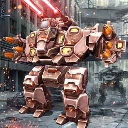 Robots Brutal War: Futuristic Combat 3D