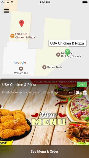 Usa Chicken Pizza Didcot On The App Store